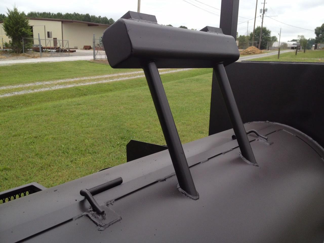Counterweight For Smoker Barrell Door